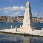 Commemorative-monumentti Argostolissa