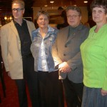 01 2006 Liiton toimijat. Mikko, Kaija, Jukka ja Marita
