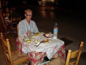 Ruokailua Argostolissa